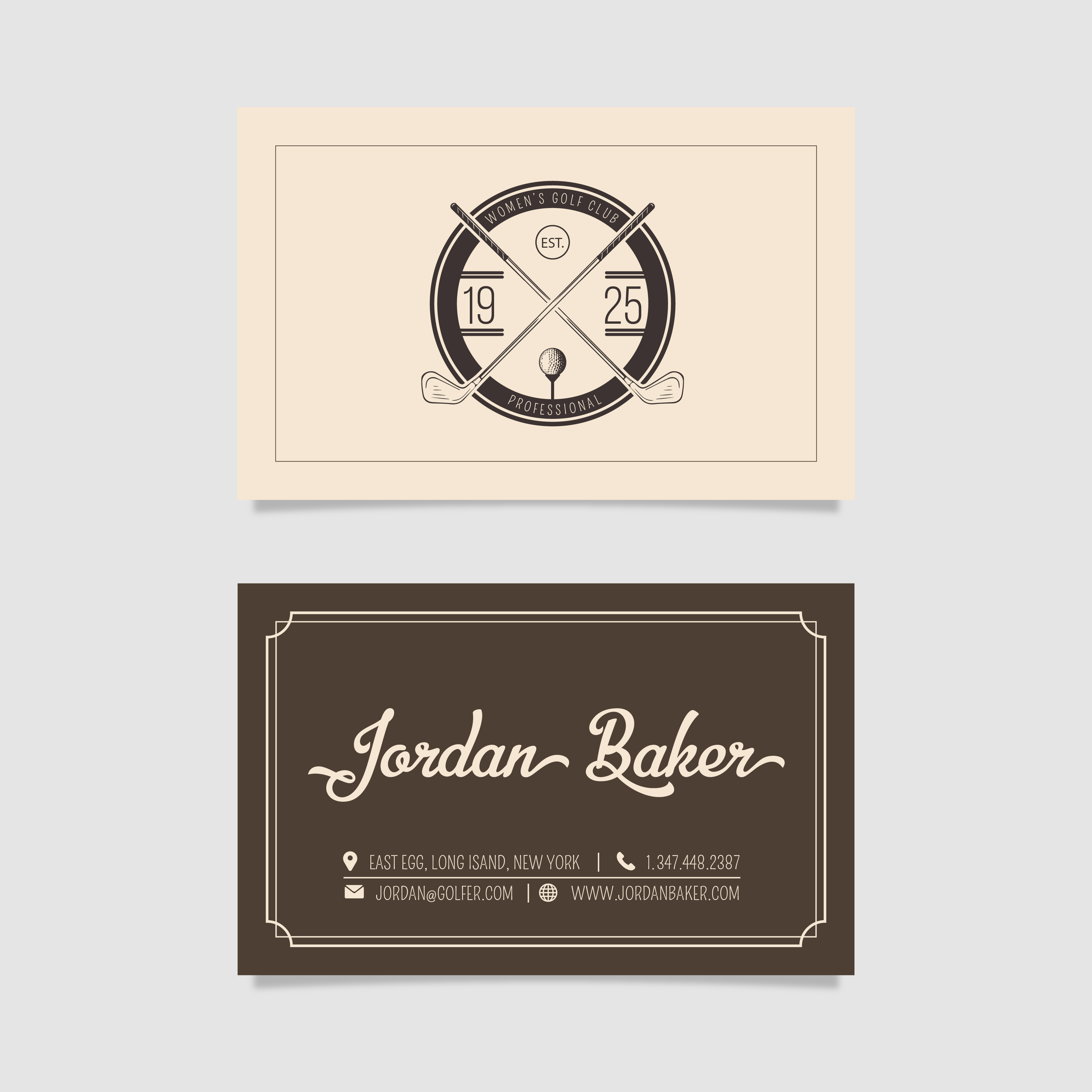 Character Design Business Card : What if the characters from great gatsby by f scott